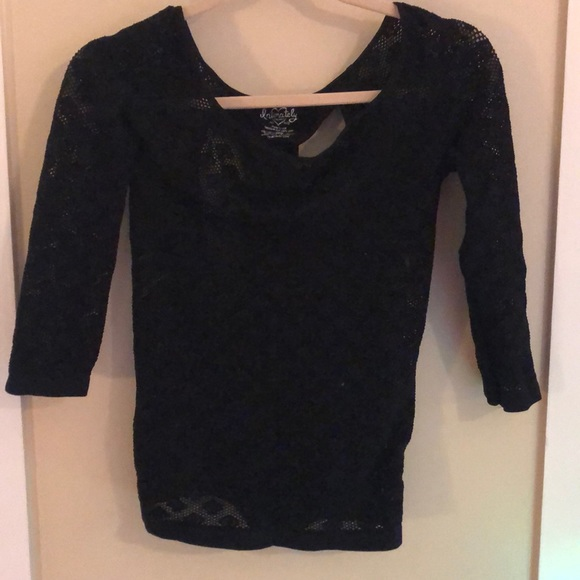 Free People Tops - Adorable freepeople mesh top with cut outs